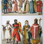 中世ヨーロッパ 貴族や王の服装(時代別)