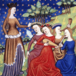 中世ヨーロッパ 貴族女性のドレス(動画と画像つき)