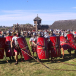 ローマ軍を破ったウェールズ王Eudaf Hen(エウダヴ・ヘン)の勇敢な行動